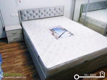 Кровать с матрасом Гармония