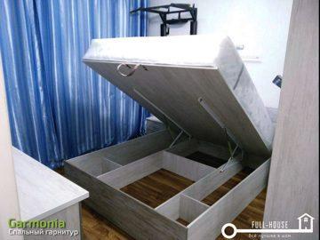 Кровать с подъёмным механизмом Гармония